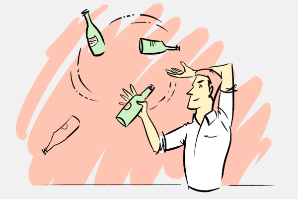 Куда бары сдают пустые бутылки?