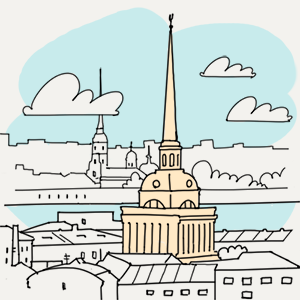 17 июня  — Утро в Петербурге на The Village