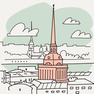 29 августа  — Утро в Петербурге translation missing: ru.desktop.posts.titles.on The Village