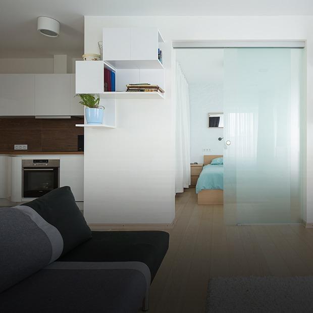 Квартира для большой семьи с минималистским интерьером — Квартира недели на The Village