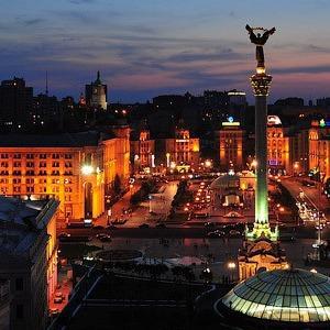 «Час Земли» в Киеве: Центр без электричества, велосипедисты со светодиодами и фильм Люка Бессона — Ситуация на The Village