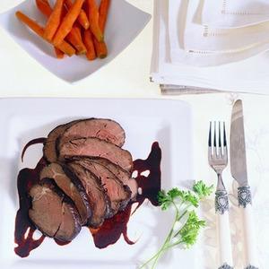 Чилийский рецепт филе говядины под глазурью из вина Мерло