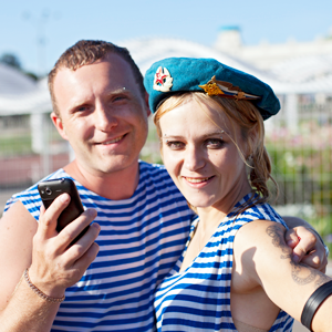 Люди в городе: Как отмечали День ВДВ в парке Горького — Галереи на The Village