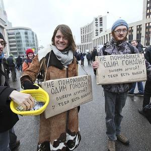 Митинг «За честные выборы» на проспекте Сахарова: Фоторепортаж, пожелания москвичей и соцопрос — Фоторепортаж на The Village