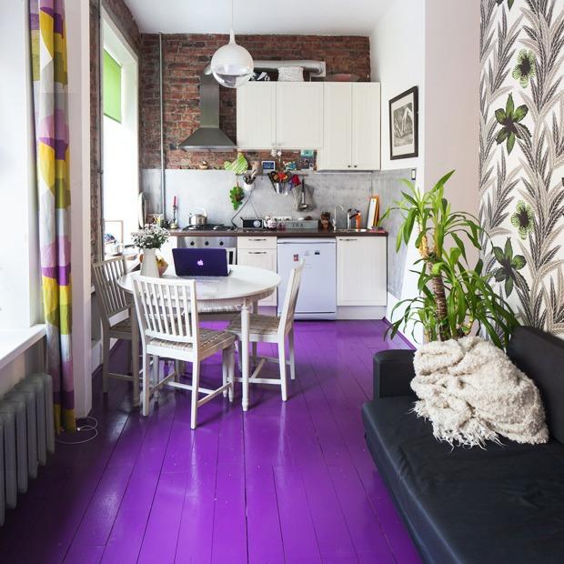 Яркая квартира на улице Некрасова — Квартира недели на The Village