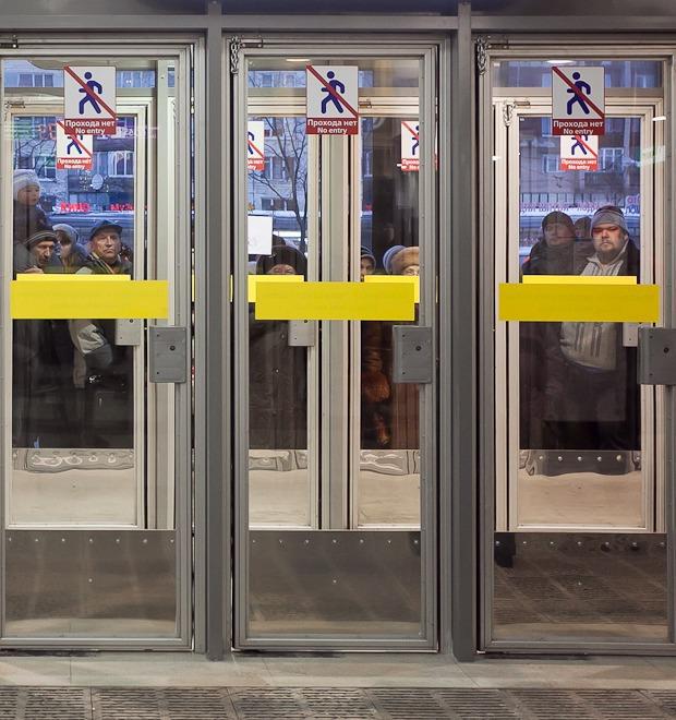 Фоторепортаж: Станции метро «Международная» и «Бухарестская» изнутри — Фоторепортаж на Look At Me