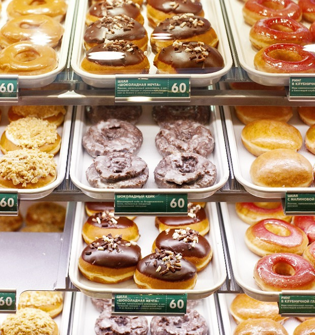 Саша Боярская о пончиковой Krispy Kreme — Любимое место на Look At Me