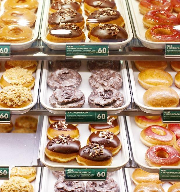 Саша Боярская о пончиковой Krispy Kreme