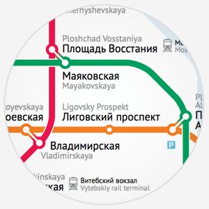 Карты на стол: схема метро Вадима Ильина — Транспорт на The Village