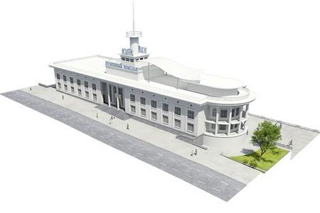 Реконструкция: Как будет выглядеть Речной вокзал — Архитектура на The Village