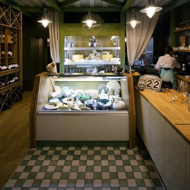 «Сырная лавка» на Жуковского  — Новое место на The Village