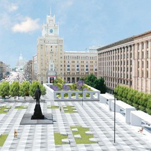 Как будет выглядеть Триумфальная площадь: Три концепции финалистов — Общественные пространства на The Village