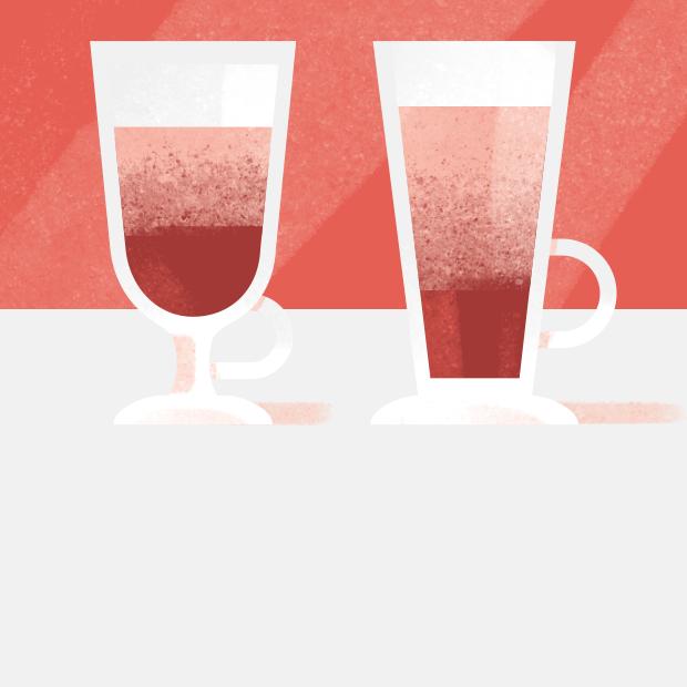 Почему латте наливают в стеклянный стакан? — Съесть вопрос на The Village