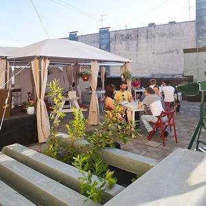 Новое место (Петербург): Крыша Lemonade — Общественные пространства на The Village