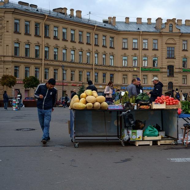 Уходит эпоха: Что происходит на Сенной площади — Город на The Village