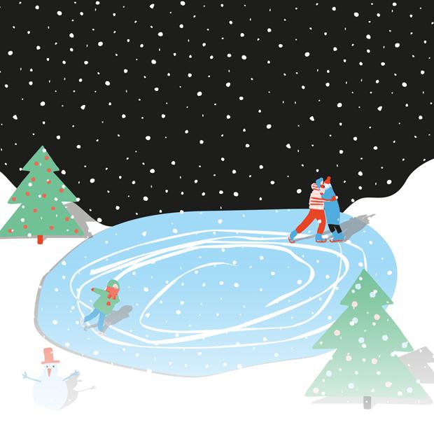 Где покататься на коньках в Нижнем Новгороде?