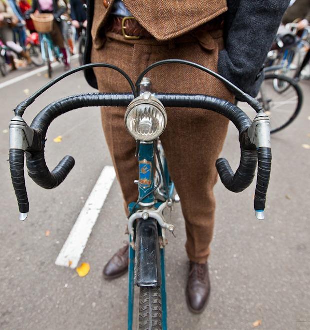 С твидом на город: Участники велопробега Tweed Ride о ретро-вещах — Люди в городе на The Village