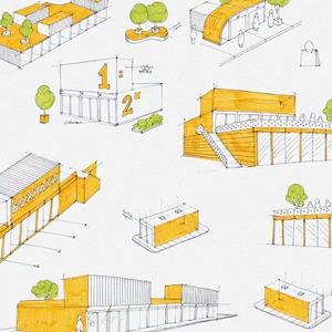 Идеи для города: Торговый центр из грузовых контейнеров — Иностранный опыт на The Village