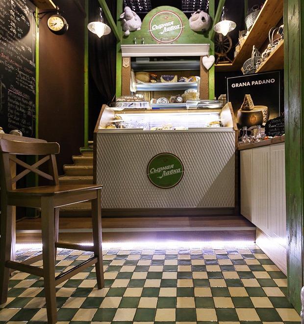 Новое место: Магазин «Сырная лавка»