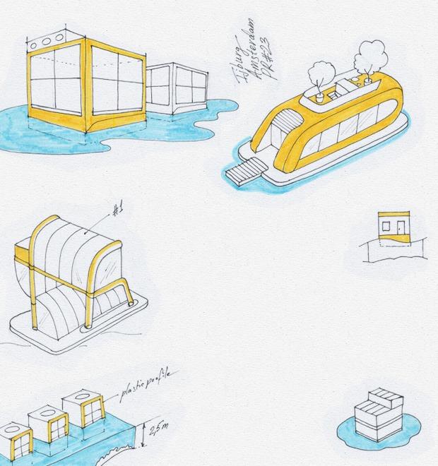 Идеи для города: Плавучие дома в Амстердаме — Иностранный опыт на The Village