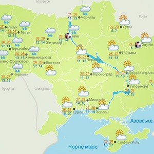 Погоду на Евро будут публиковать на отдельном сайте — Евро-2012 на The Village