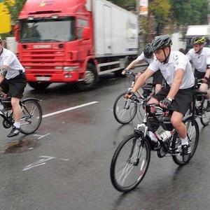 В фан-зоне Евро-2012 начал работать велопатруль — Евро-2012 на The Village