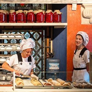 Новое место (Львов): Пекарня «Львівські пляцки» — Львов на The Village
