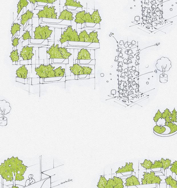 Идеи для города: Вертикальный лес вцентре Милана — Иностранный опыт на The Village