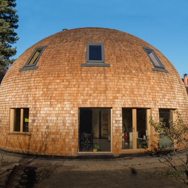 Личная сфера: Как живётся в купольном доме в Подмосковье — Дом на The Village