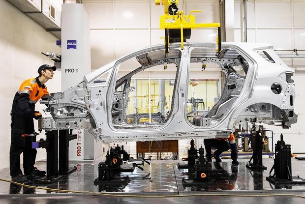 Как делают автомобили — Производственный процесс на The Village