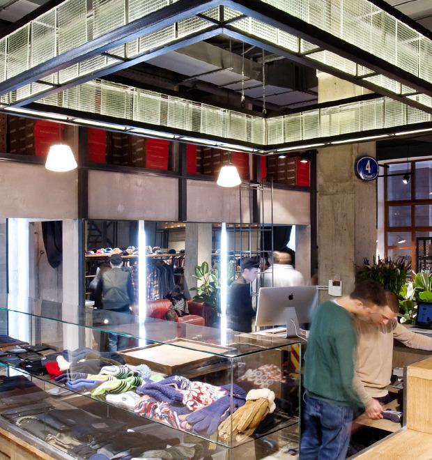 Новое место: Магазин FOTT в Дмитровском переулке — Магазины на The Village