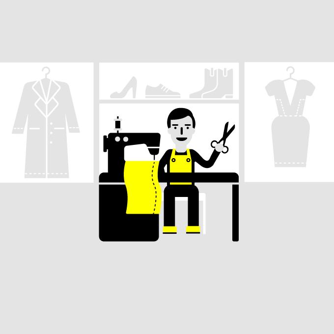 Начни бизнес: Ремонт одежды — Облако знаний на The Village