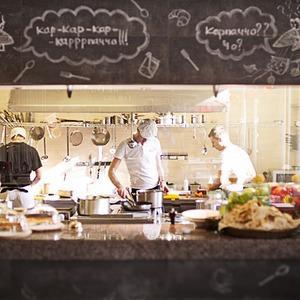 Новое место (Киев): Ресторан Carpaccio Cafe — Новое место на The Village