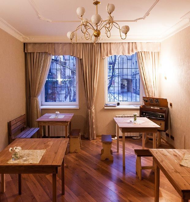 Все свои: Вегетарианское кафе в квартире на Думской — Рестораны на The Village