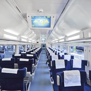 Начали продавать билеты на поезда Hyundai сообщением Киев — Донецк — Евро-2012 на The Village