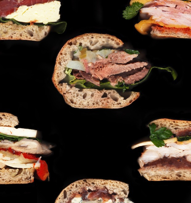 Составные части: 6 сэндвичей из «Бутербро» — Составные части на The Village