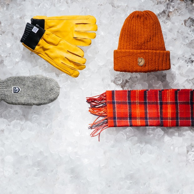 Мужские зимние аксессуары — Съёмки на The Village