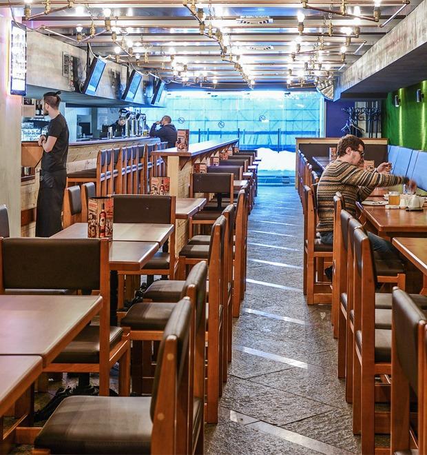 Новое место (Киев): Чураско-бар Pivbar Beer & Beef — Новое место на The Village