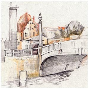 Мастер-класс городского наброска в Берлине — Клуб рисовальщиков на The Village