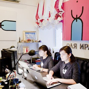 Офис недели: Sundukovy Sisters (Москва) — Интерьер недели на The Village