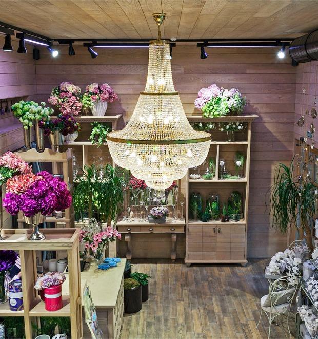 Интерьер недели (Киев): Цветочный бутик Fiori — Город на The Village