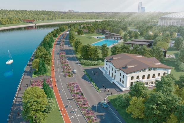 Как реконструируют парк «Лужники» к ЧМ-2018 — Архитектура на The Village