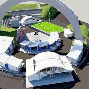 Под аркой Дружбы Народов будут показывать фильмы и проводить выставки — Евро-2012 на The Village