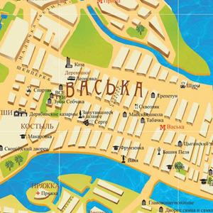 У Петербурга появилась неформальная карта — Город на The Village