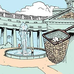 Есть вопрос: Куда исчезают монеты из фонтанов? — Есть вопрос на The Village