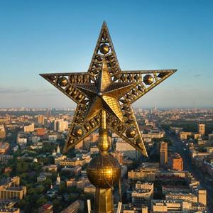 Звёзды сталинских высоток, которые вы никогда не видели