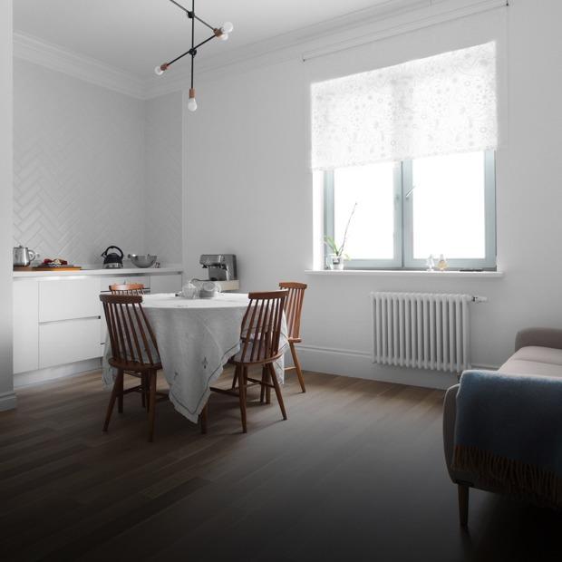 Лаконичная квартира в шведском стиле в новом доме на Петроградской стороне (Петербург) — Квартира недели на The Village