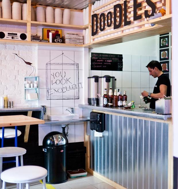Новое место: Кафе Doodles