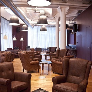 Офис недели (Москва): Клубный офис Cabinet Lounge