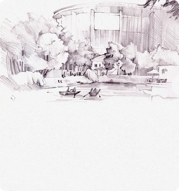 Клуб рисовальщиков: Екатерининский парк — Клуб рисовальщиков на The Village